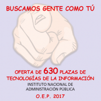 plazas oep 2017