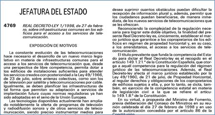 Real Decreto ICT